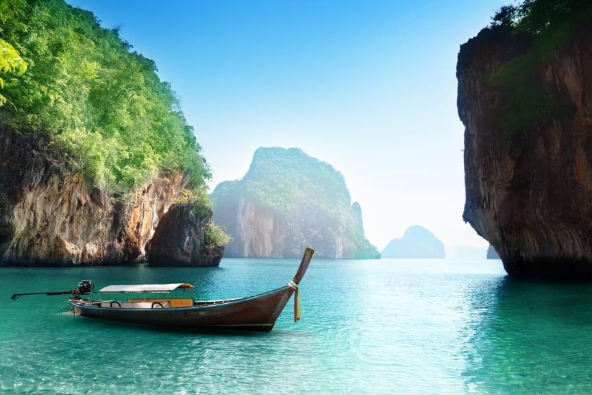 Backpacking fra Bangkok til Singapore