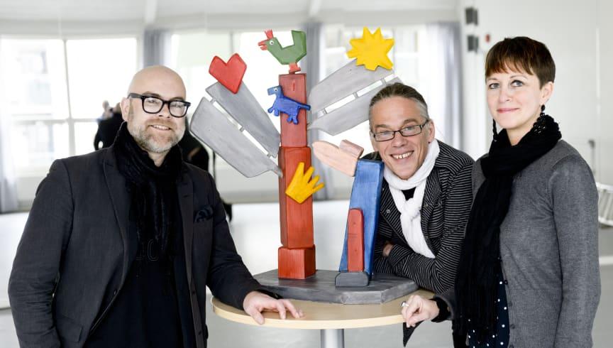 Dansstationen och Häpnad Region Skånes kulturpalett 2012