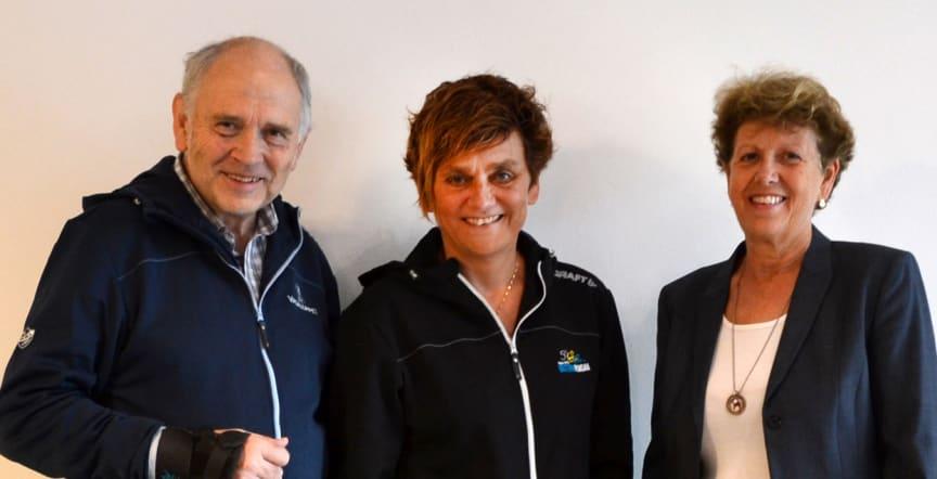 Ulf Hållmarker, Eva-Lena Frick och och Carin Nises.