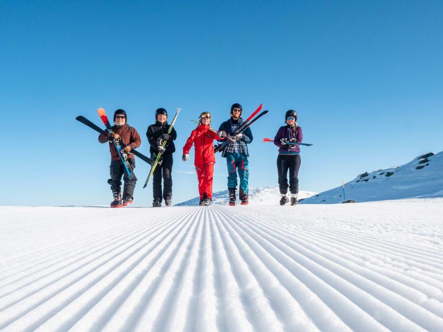 25 prosent av nordmenn har aldri stått på ski