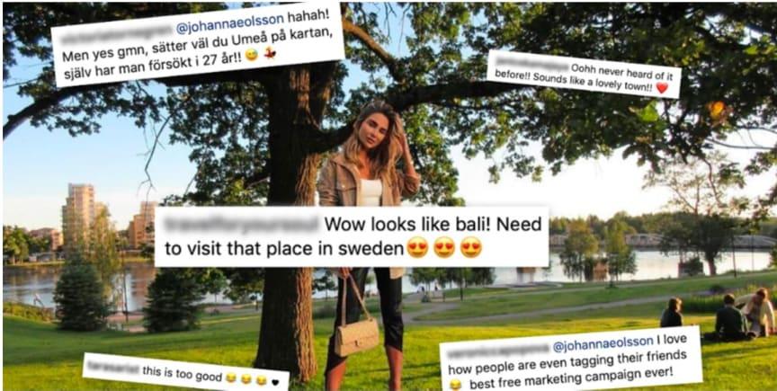 """Johanna E Olsson """"besökte"""" Umeå"""