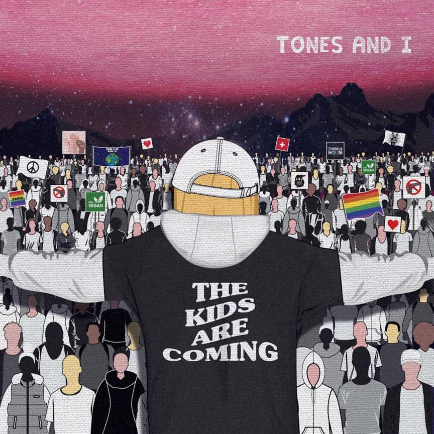 Tones And I -  The Kids Are Coming (artwork)