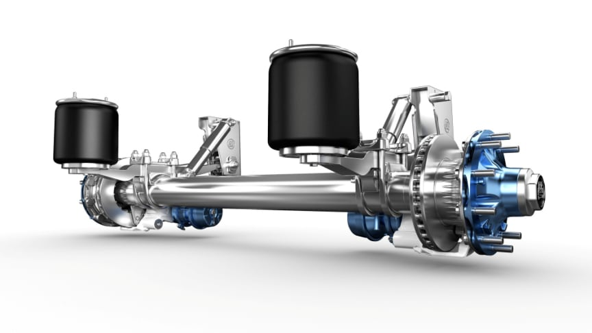 Even lighter, even more variable for on- and off-road: BPW renews Airlight II trailer running gears.