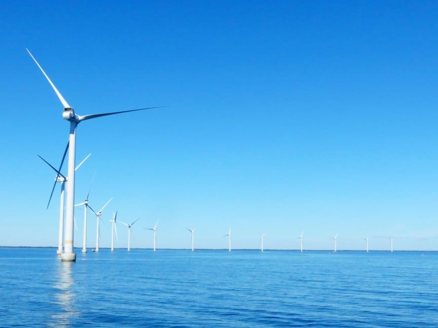 På fredag invigs vindkraftparken Kårehamn utanför Öland