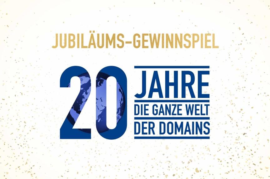 20 Jahre united-domains - Jubiläums-Gewinnspiel