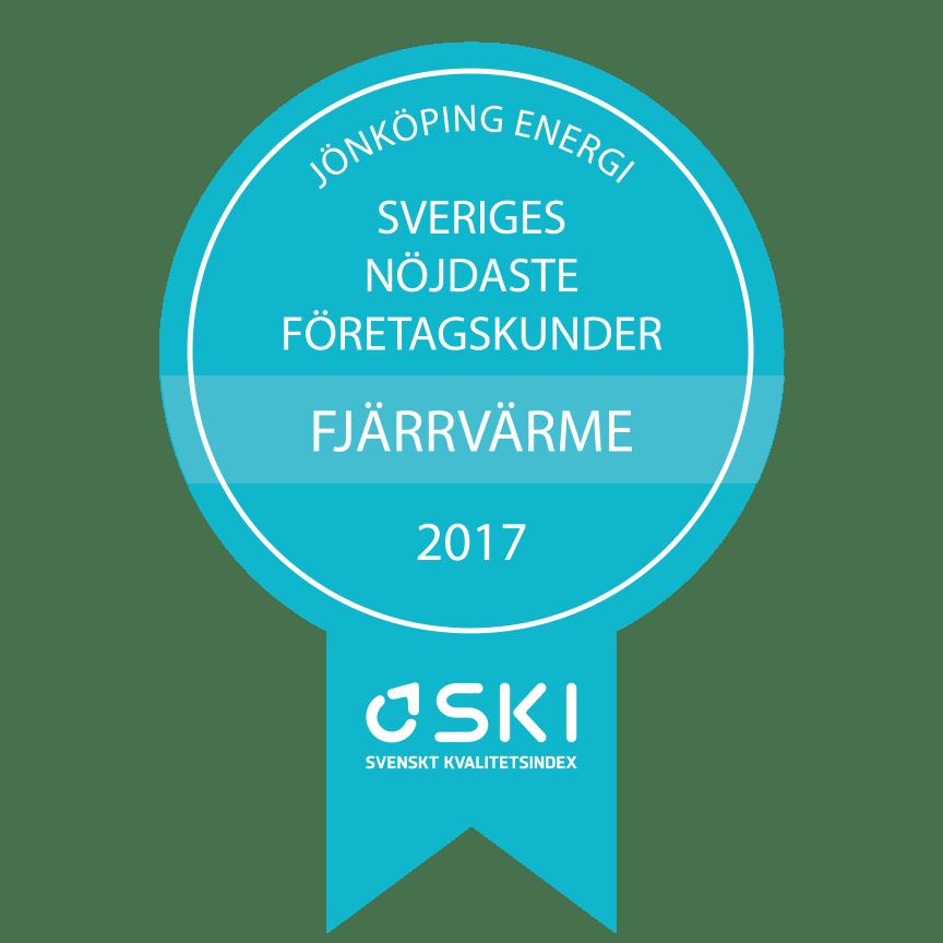 Medaljer SKI Fjärrvärme B2B 2017