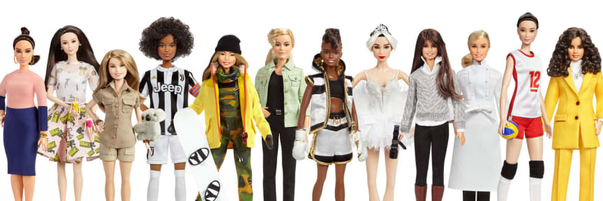Mattel_Barbie_Role_Models