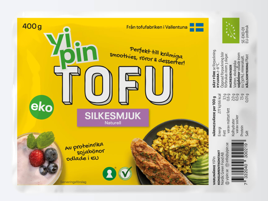 YiPin-Tofu-Silkesmjuk EKO