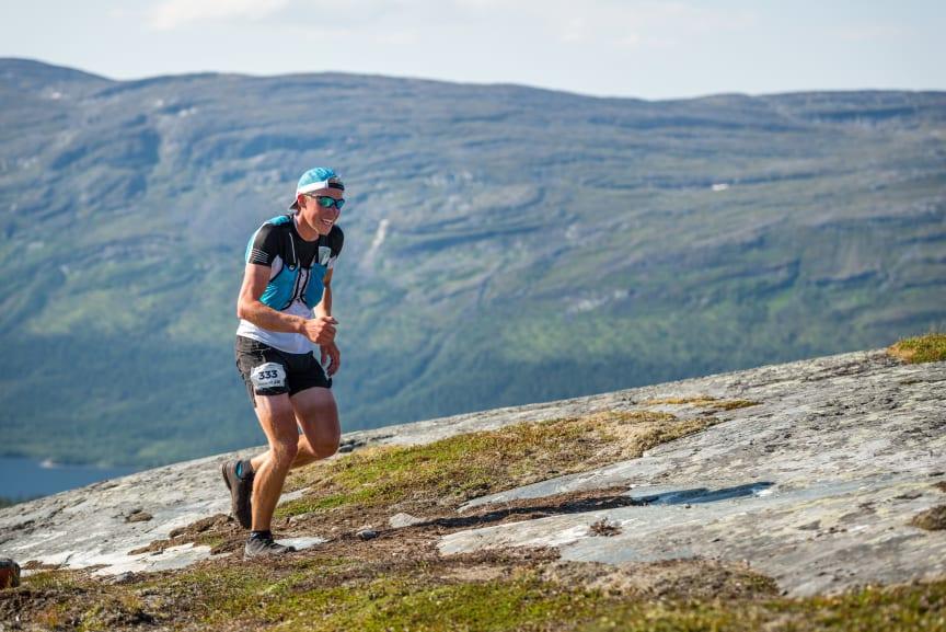 Patrik Wikström, vinnare av Salomon 27K herrklassen