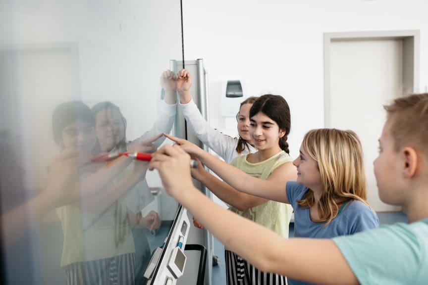 SMART Board iQ med elever