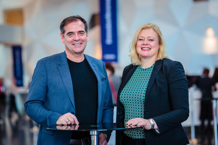 Andreas Gillund og Ragnhild Borchgrevink