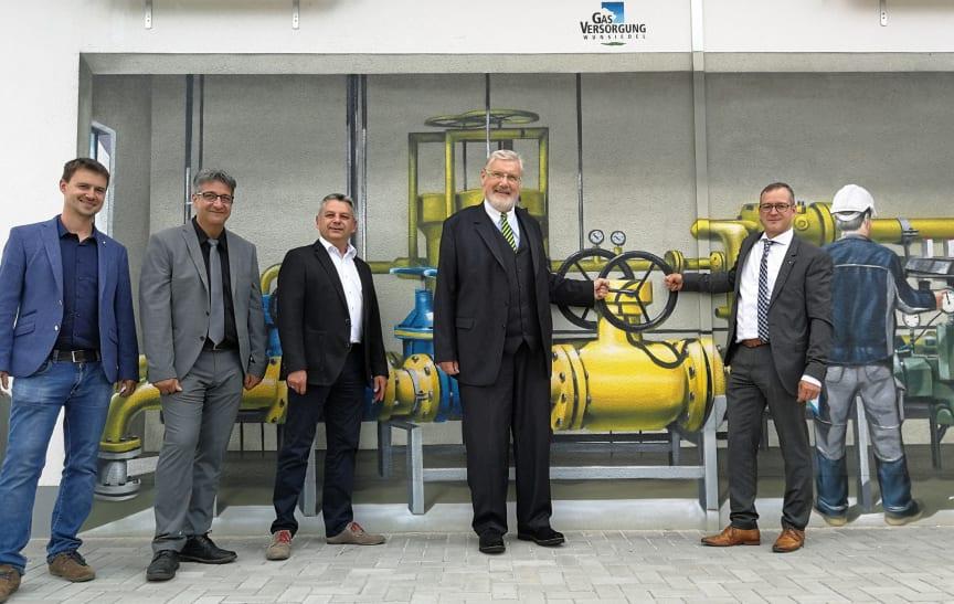 Inbetriebnahme Gasstation Wunsiedel_2