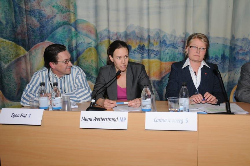 Byggpolitisk debatt Nordbygg 23/3 Oppositionen