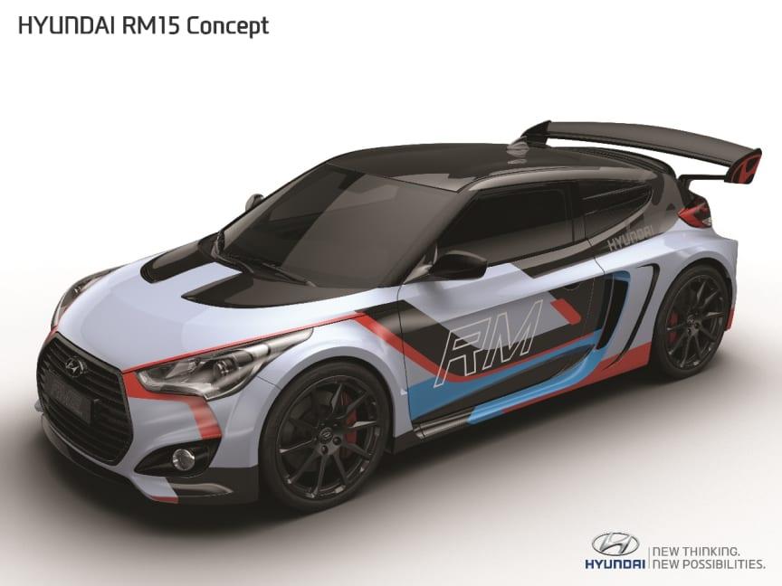 Hyundais konseptbil RM15