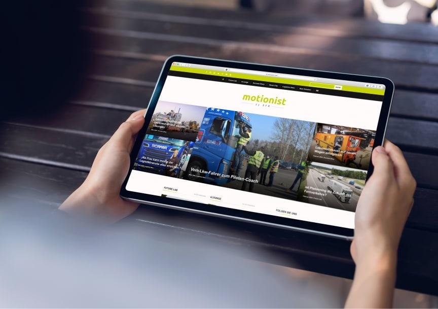 Das Themenportal rund um Transport und Logistik: motionist.com von BPW