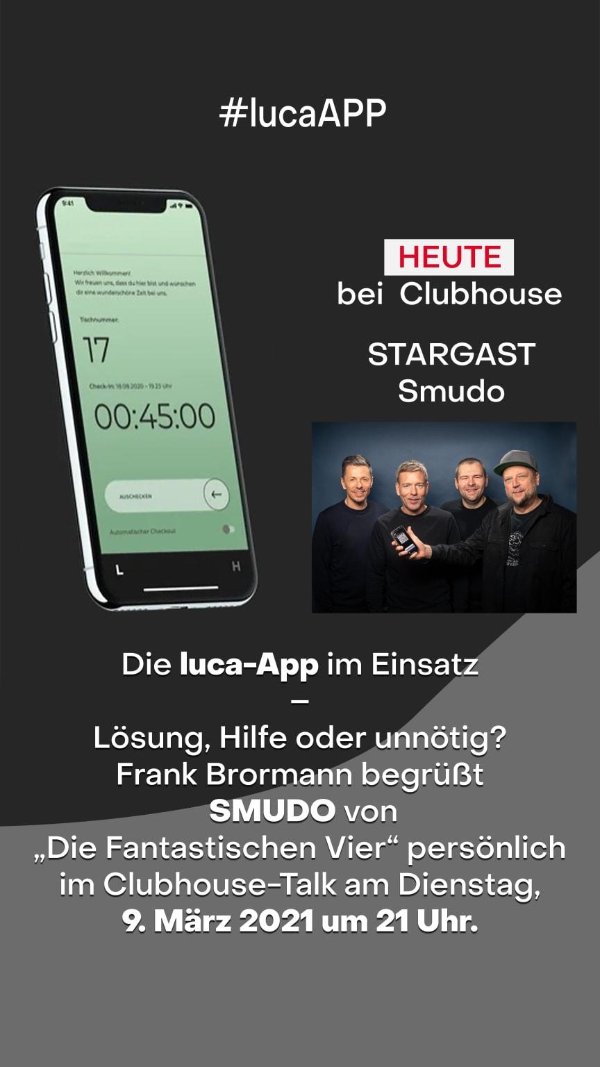 Clubouse-Talk mit Frank Brormann und Smudo