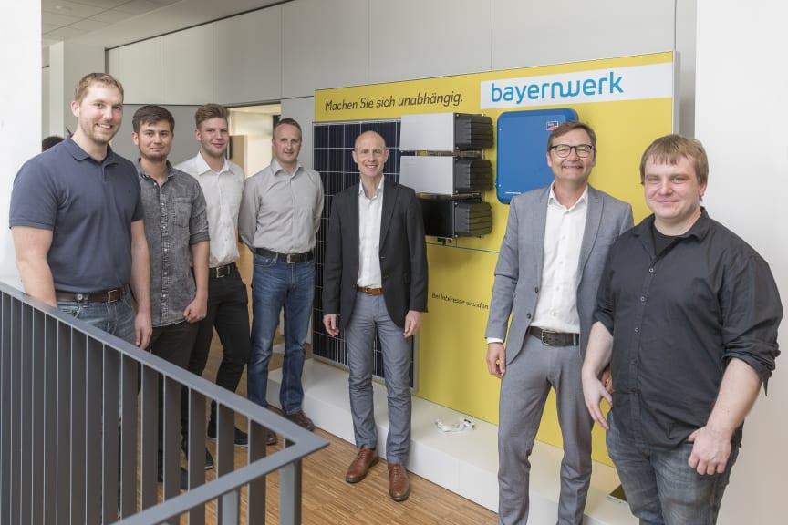 Bayernwerk-Vorstand präsentiert neues Pilotprojekt