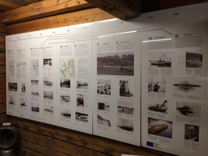 Sjöfarts-och industriutställning på Piteå Båtmuseum