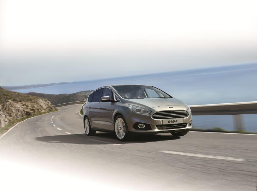 Nye Ford S-MAX kommer til Norge i løpet av 1. halvår 2015