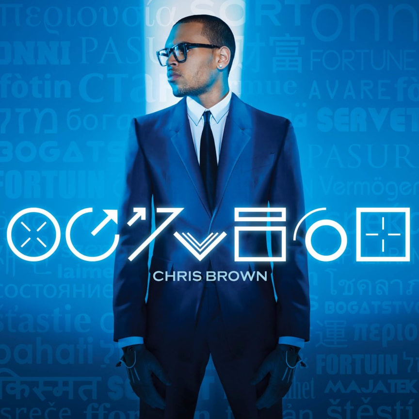 "Chris Brown - albumomslag ""Fortune"""