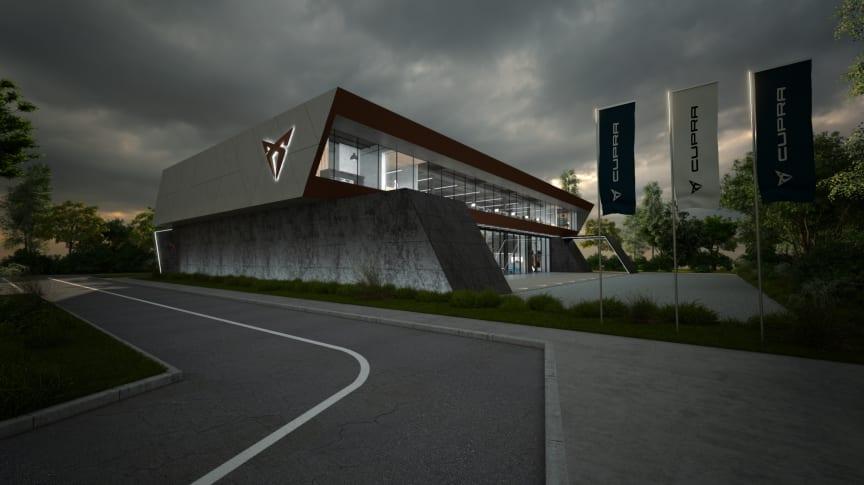CUPRA hovedkontor