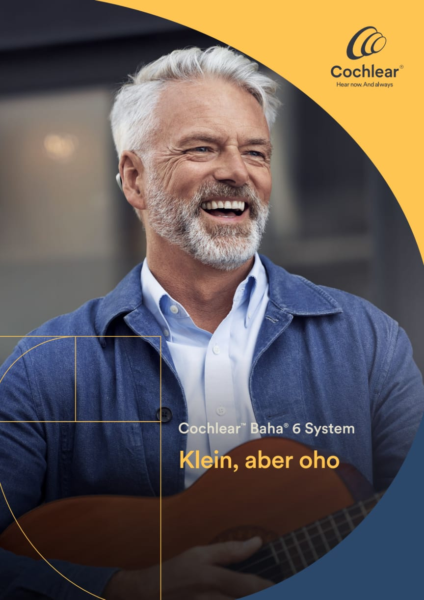 Cochlear™ Baha® 6 Max Soundprozessor - Klein, aber oho