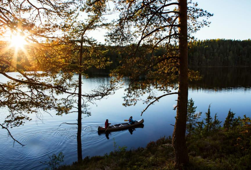 Kano i Dalsland, Vestsverige