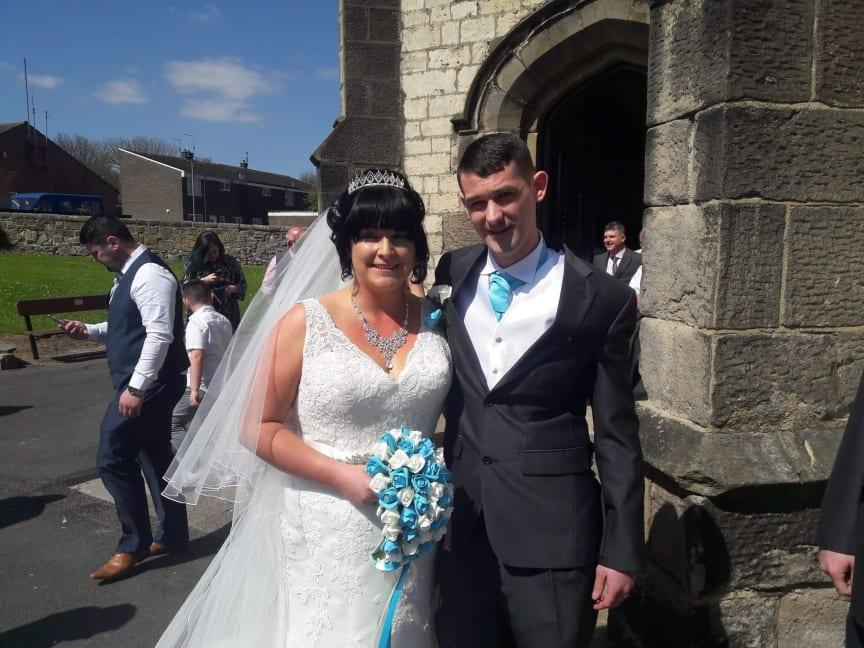 Kayleigh and Colin Thompson
