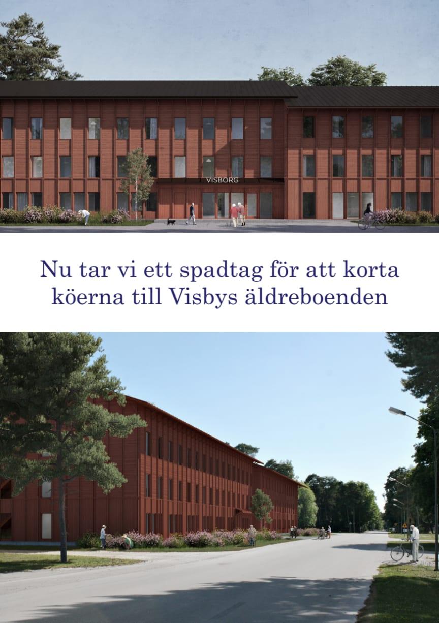 Nytt boende planeras i Visby
