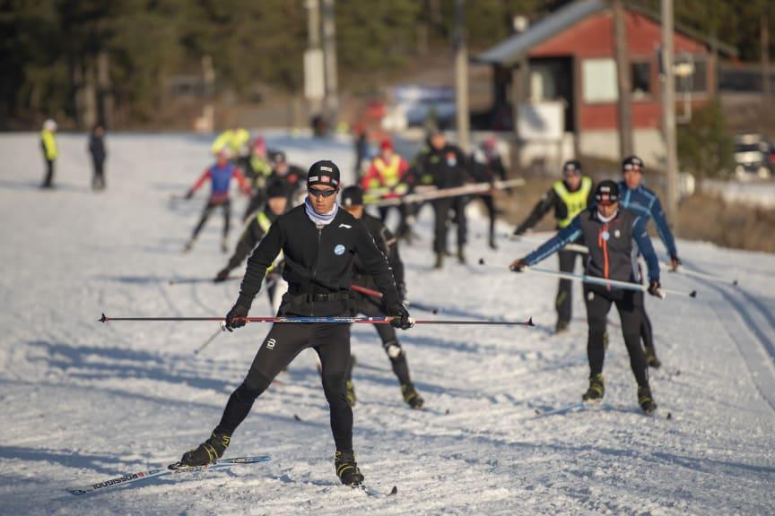 Trener i Trysil for å delta på OL i 2022
