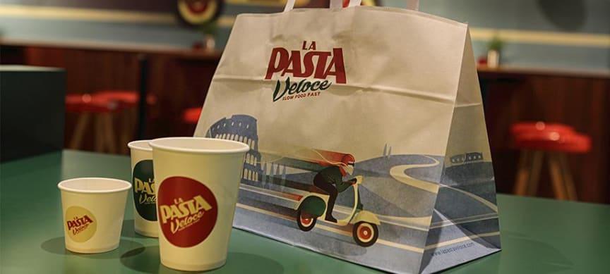 La Pasta Veloce takeaway