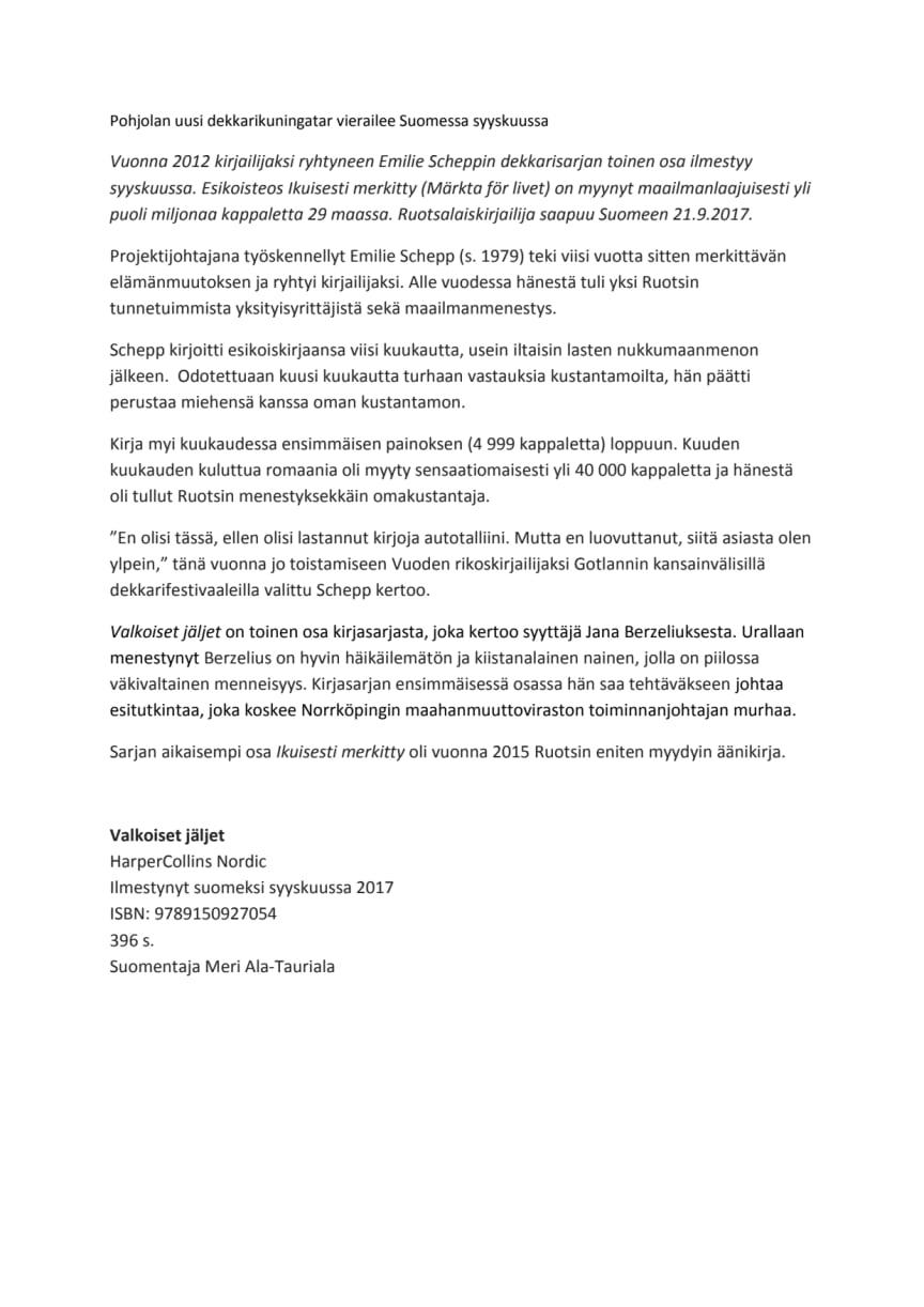 Pohjolan uusi dekkarikuningatar vierailee Suomessa syyskuussa