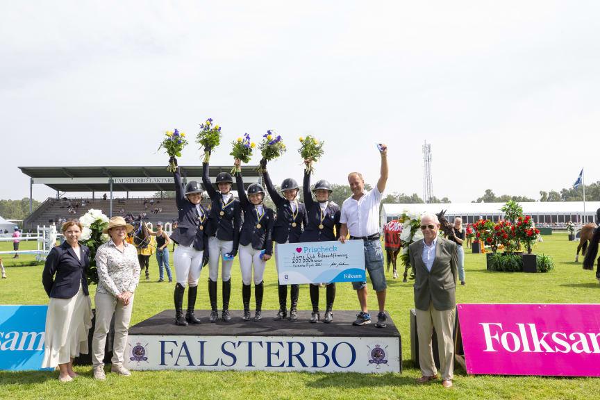 Jump Club segrade i Folksam Elitallsvenska