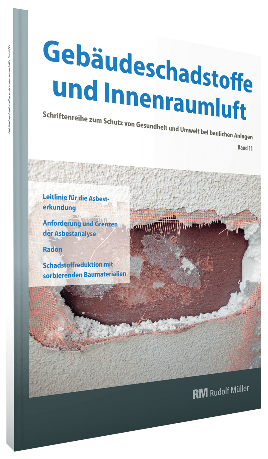 Gebäudeschadstoffe und Innenraumluft, Band 11 (3D/tif)