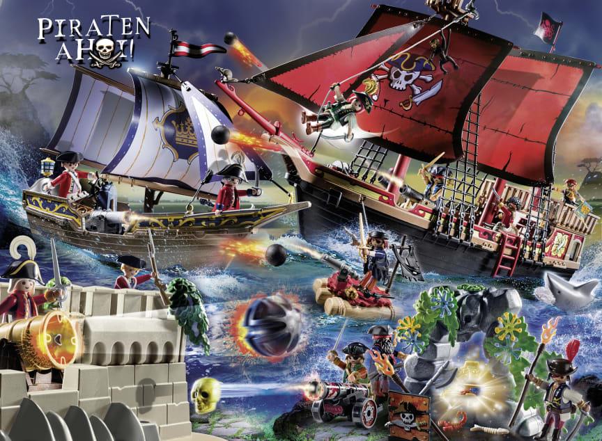 PLAYMOBIL-Spielwelt Piraten