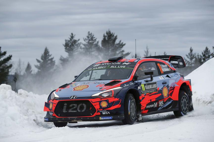 Hyundai Motorsport - Rally Sweden 2020