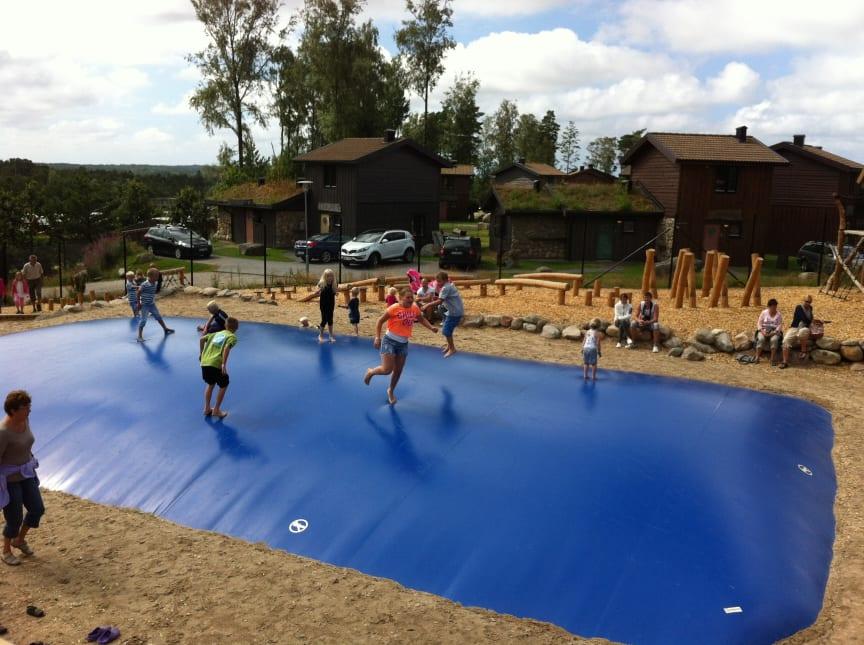 Hoppkudde hos Daftö Resort