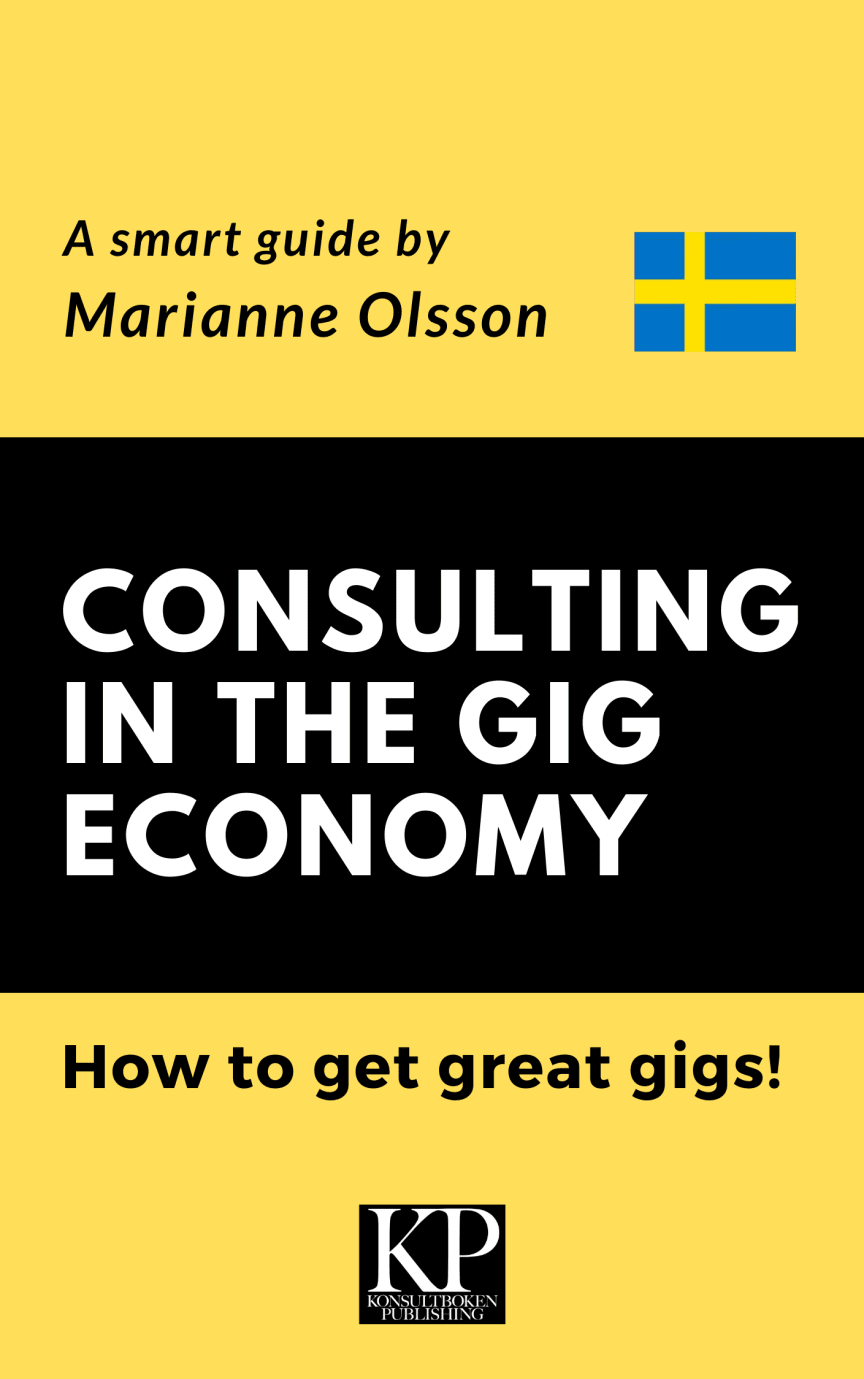 Consulting in the Gig Economy - Svensk distribution