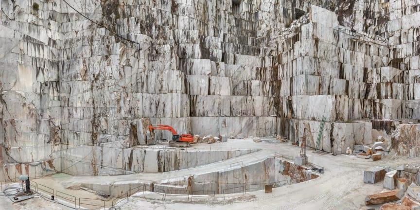 Antropocen: Carrara Marble Quarries, Cava di Canalgrande #2, Carrara, Italy 2016