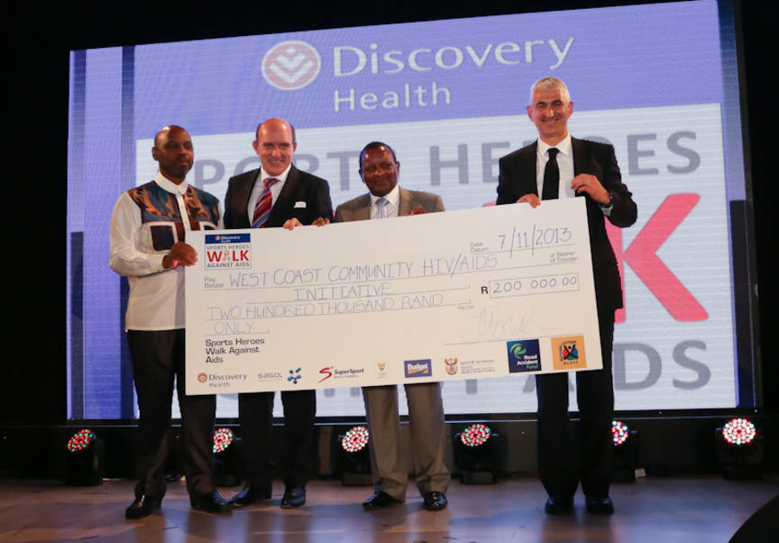 Discovery Health Sports Heroes Walk Against