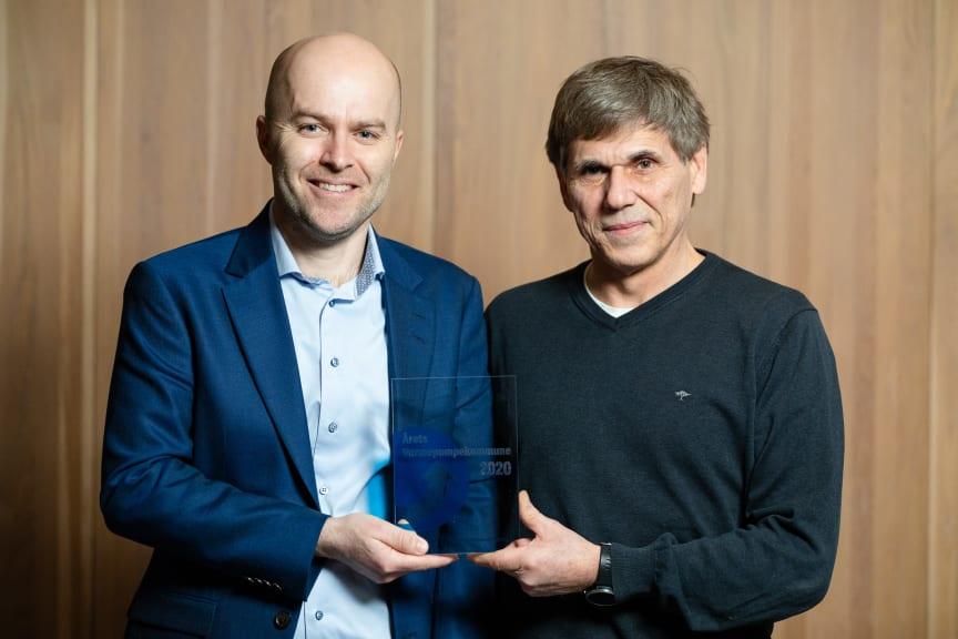 Rolf Iver Mytting Hagemoen (til venstre) og Bjørn Langjordet