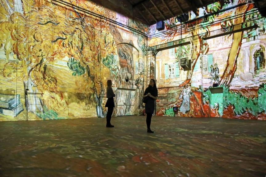 Kunstkraftwerk Leipzig - Van Gogh experience - Foto Andreas Schmidt
