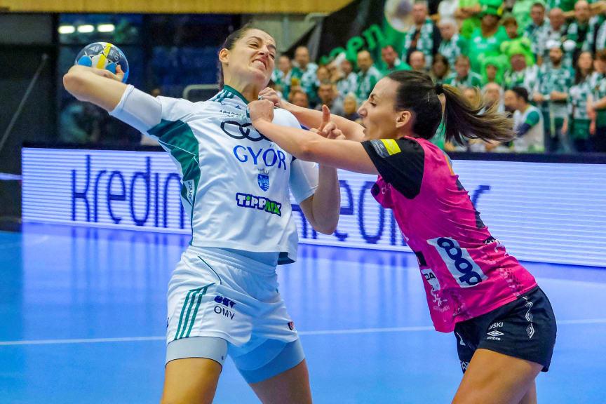Handball - Women's EHF Champions League - Vipers Kristiansand v Gyori ETO KC - Kristiansand, Norway - March 9, 2019. NTB Scanpix Tor Erik Schroder via