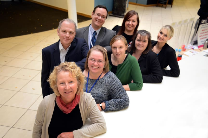 The team from Northumbria University's Student Law Office