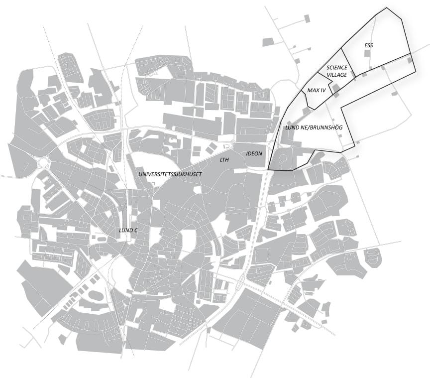 Karta FOJAB arkitekter, högupplöst.