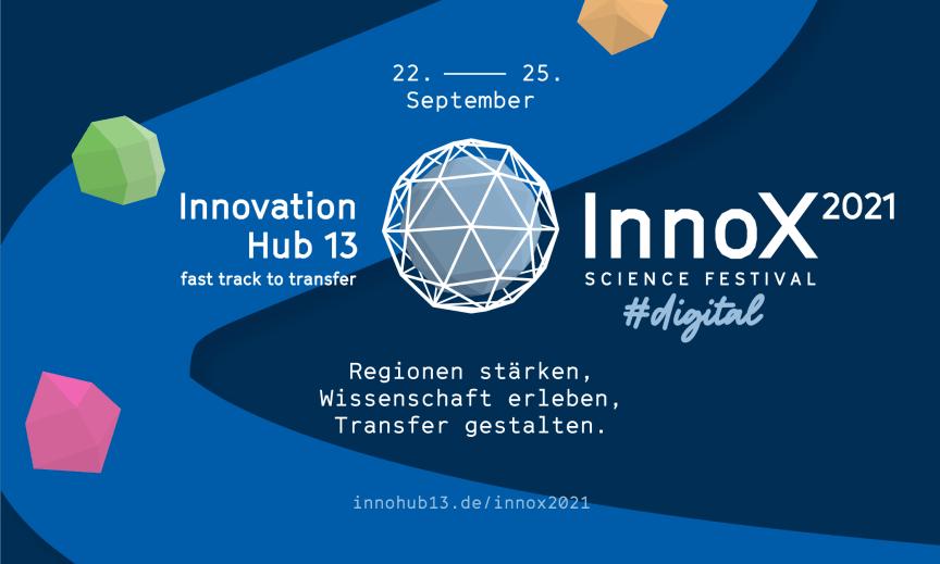 InnoX Science Festival 2021 – Brandenburgs erstes Festival für Wissenstransfer