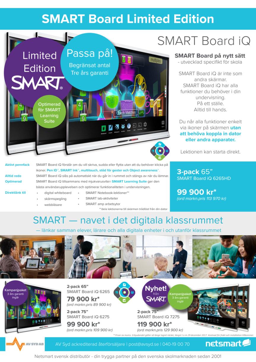 Skolkampanj Limited Edition SMART Board iQ