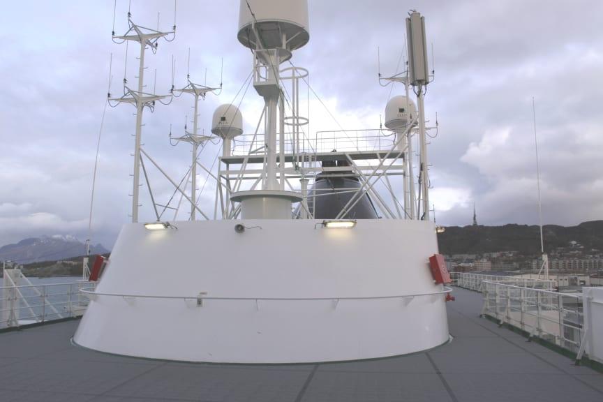 Basestasjon Hurtigruten