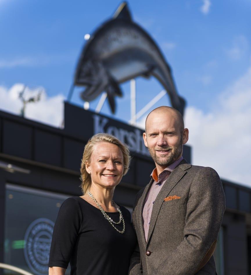 Niklas och Pernilla Korshag, ägare Korshags Food
