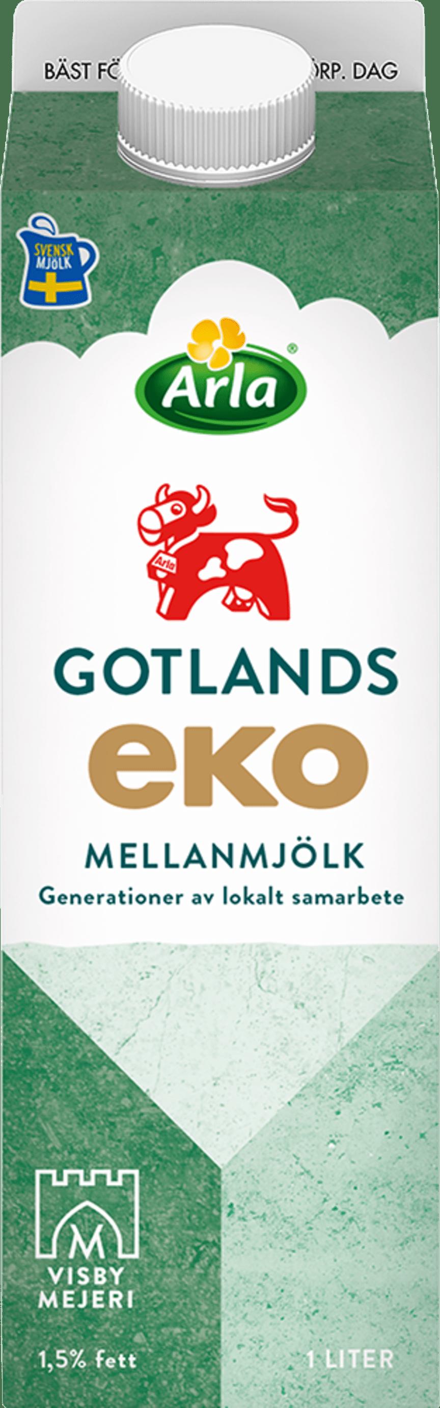 Arla Ko Gotlandsmjölk Eko